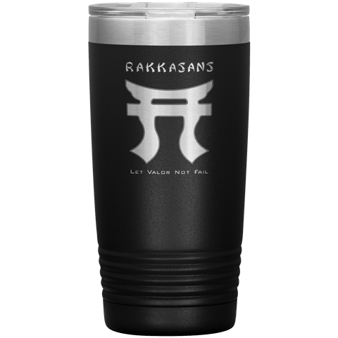 20oz RAKKASANS TUMBLER Tumblers Black Upper Tier Development