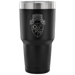 2ND RANGER BATTALION TUMBLER W/ TAB Tumblers 30 Ounce Vacuum Tumbler - Black Upper Tier Development