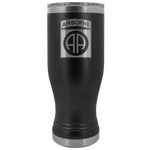 82ND AIRBORNE DIVISION 20OZ BOHO TUMBLER Tumblers Black Upper Tier Development
