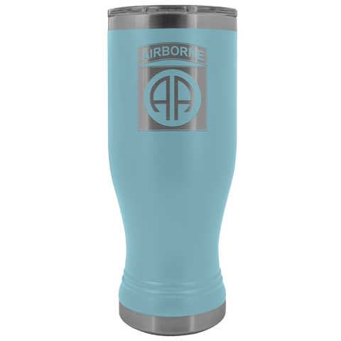 82ND AIRBORNE DIVISION 20OZ BOHO TUMBLER Tumblers Light Blue Upper Tier Development