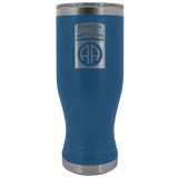 82ND AIRBORNE DIVISION 20OZ TABBED BOHO TUMBLER Tumblers Blue Upper Tier Development