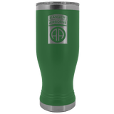 82ND AIRBORNE DIVISION 20OZ TABBED BOHO TUMBLER Tumblers Green Upper Tier Development