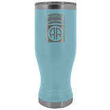 82ND AIRBORNE DIVISION 20OZ TABBED BOHO TUMBLER Tumblers Light Blue Upper Tier Development