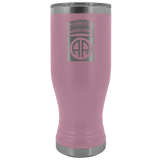82ND AIRBORNE DIVISION 20OZ TABBED BOHO TUMBLER Tumblers Light Purple Upper Tier Development