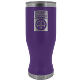 82ND AIRBORNE DIVISION 20OZ TABBED BOHO TUMBLER Tumblers Purple Upper Tier Development