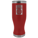 82ND AIRBORNE DIVISION 20OZ TABBED BOHO TUMBLER Tumblers Red Upper Tier Development