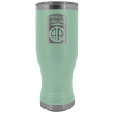 82ND AIRBORNE DIVISION 20OZ TABBED BOHO TUMBLER Tumblers Teal Upper Tier Development