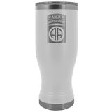 82ND AIRBORNE DIVISION 20OZ TABBED BOHO TUMBLER Tumblers White Upper Tier Development