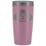 82ND AIRBORNE DIVISION 20OZ TABBED WINGED TUMBLER Tumblers Light Purple Upper Tier Development