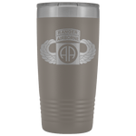 82ND AIRBORNE DIVISION 20OZ TABBED WINGED TUMBLER Tumblers Pewter Upper Tier Development