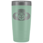 82ND AIRBORNE DIVISION 20OZ TABBED WINGED TUMBLER Tumblers Teal Upper Tier Development