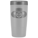 82ND AIRBORNE DIVISION 20OZ TABBED WINGED TUMBLER Tumblers White Upper Tier Development