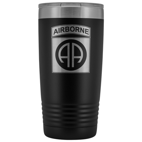 82ND AIRBORNE DIVISION 20OZ TUMBLER Tumblers Black Upper Tier Development