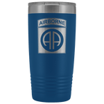 82ND AIRBORNE DIVISION 20OZ TUMBLER Tumblers Blue Upper Tier Development