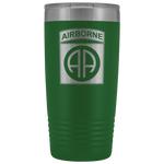82ND AIRBORNE DIVISION 20OZ TUMBLER Tumblers Green Upper Tier Development
