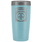 82ND AIRBORNE DIVISION 20OZ TUMBLER Tumblers Light Blue Upper Tier Development