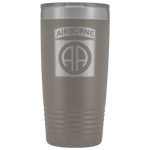 82ND AIRBORNE DIVISION 20OZ TUMBLER Tumblers Pewter Upper Tier Development