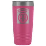 82ND AIRBORNE DIVISION 20OZ TUMBLER Tumblers Pink Upper Tier Development
