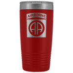 82ND AIRBORNE DIVISION 20OZ TUMBLER Tumblers Red Upper Tier Development