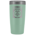 82ND AIRBORNE DIVISION 20OZ TUMBLER Tumblers Teal Upper Tier Development