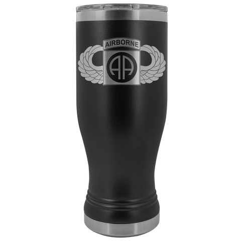 82ND AIRBORNE DIVISION 20OZ WINGED BOHO TUMBLER Tumblers Black Upper Tier Development