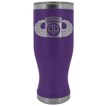 82ND AIRBORNE DIVISION 20OZ WINGED BOHO TUMBLER Tumblers Purple Upper Tier Development