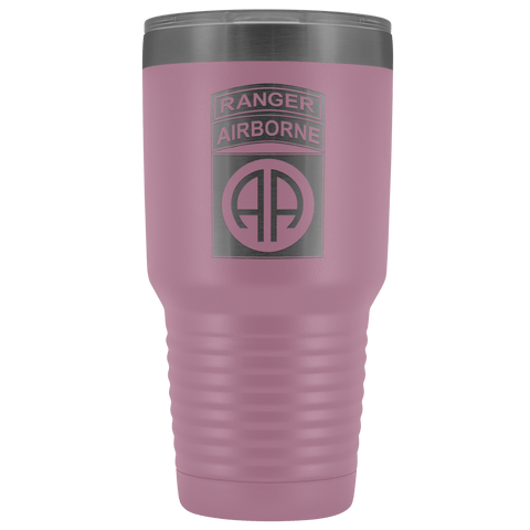 82ND AIRBORNE DIVISION 30OZ TABBED TUMBLER Tumblers Light Purple Upper Tier Development