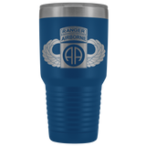 82ND AIRBORNE DIVISION 30OZ TABBED WINGED TUMBLER Tumblers Blue Upper Tier Development
