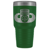 82ND AIRBORNE DIVISION 30OZ TABBED WINGED TUMBLER Tumblers Green Upper Tier Development