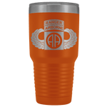 82ND AIRBORNE DIVISION 30OZ TABBED WINGED TUMBLER Tumblers Orange Upper Tier Development
