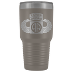 82ND AIRBORNE DIVISION 30OZ TABBED WINGED TUMBLER Tumblers Pewter Upper Tier Development