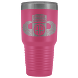 82ND AIRBORNE DIVISION 30OZ TABBED WINGED TUMBLER Tumblers Pink Upper Tier Development