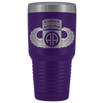 82ND AIRBORNE DIVISION 30OZ TABBED WINGED TUMBLER Tumblers Purple Upper Tier Development