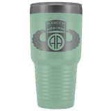 82ND AIRBORNE DIVISION 30OZ TABBED WINGED TUMBLER Tumblers Teal Upper Tier Development
