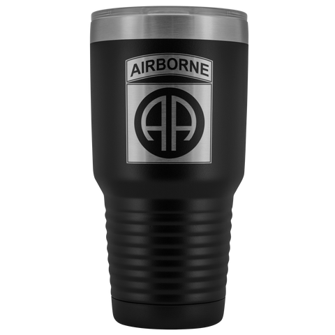 82ND AIRBORNE DIVISION 30OZ TUMBLER Tumblers Black Upper Tier Development