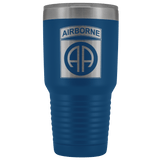 82ND AIRBORNE DIVISION 30OZ TUMBLER Tumblers Blue Upper Tier Development