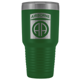 82ND AIRBORNE DIVISION 30OZ TUMBLER Tumblers Green Upper Tier Development