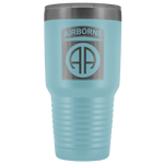82ND AIRBORNE DIVISION 30OZ TUMBLER Tumblers Light Blue Upper Tier Development