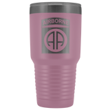 82ND AIRBORNE DIVISION 30OZ TUMBLER Tumblers Light Purple Upper Tier Development
