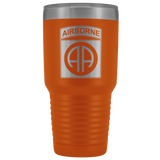 82ND AIRBORNE DIVISION 30OZ TUMBLER Tumblers Orange Upper Tier Development