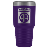 82ND AIRBORNE DIVISION 30OZ TUMBLER Tumblers Purple Upper Tier Development
