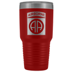 82ND AIRBORNE DIVISION 30OZ TUMBLER Tumblers Red Upper Tier Development