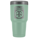 82ND AIRBORNE DIVISION 30OZ TUMBLER Tumblers Teal Upper Tier Development