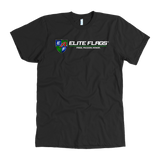 Elite Flags AA Tee T-shirt American Apparel Mens / Black / S Upper Tier Development