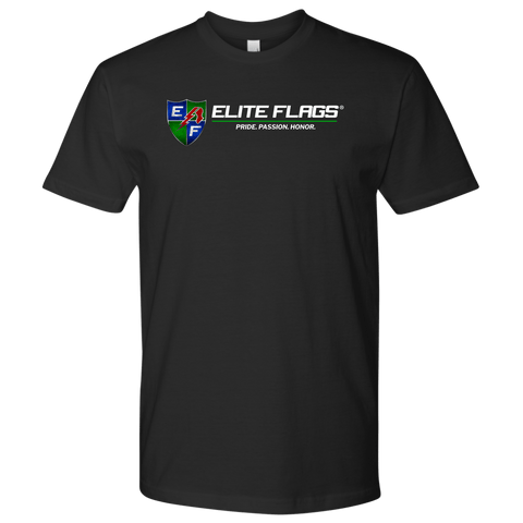Elite Flags Next Tee T-shirt Next Level Mens Shirt / Black / S Upper Tier Development