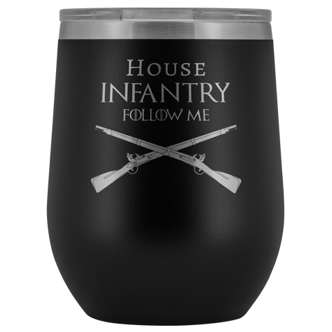 HOUSE INFANTRY WINE TUMBLER Wine Tumbler Black Upper Tier Development