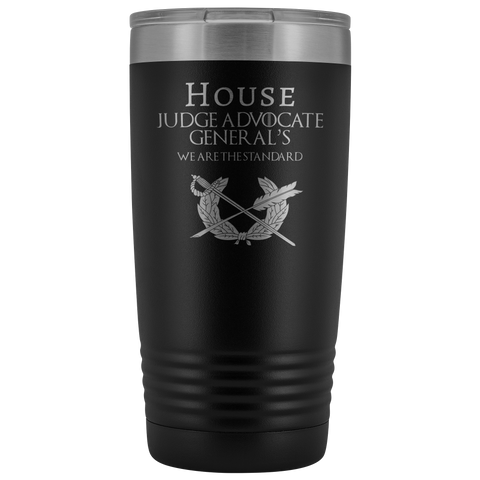 HOUSE JAG (PARALEGAL) 20 OZ TUMBLER Tumblers Black Upper Tier Development