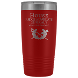 HOUSE JAG (PARALEGAL) 20 OZ TUMBLER Tumblers Red Upper Tier Development