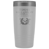 HOUSE JAG (PARALEGAL) 20 OZ TUMBLER Tumblers White Upper Tier Development