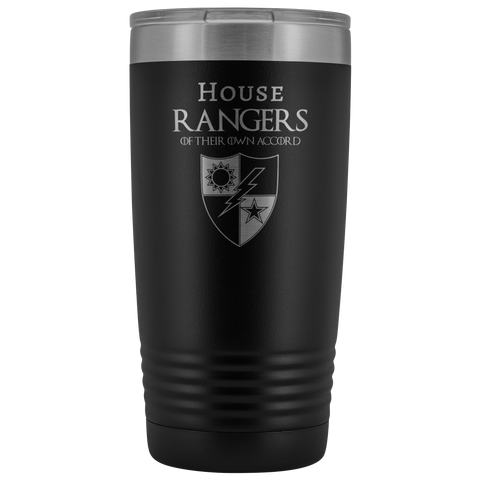 HOUSE RANGERS 20 OZ TUMBLER Tumblers Black Upper Tier Development